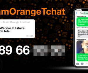 Orange active ses partenariats avec le PSG, l'OM et l'OL sur WhatsApp