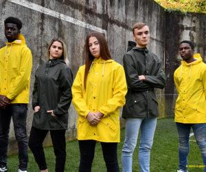 Le FC Nantes s'associe à la marque de vêtements imperméables Rains pour affronter la morosité de l'automne