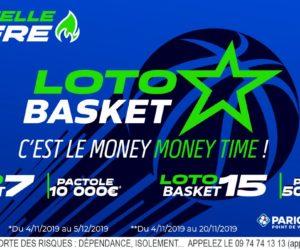 Paris sportifs : Après le foot et le rugby, FDJ lance son Loto Basket (7 et 15)