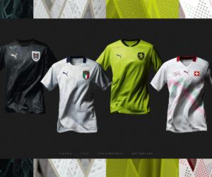 UEFA Euro 2020 : Puma dévoile les maillots extérieurs de l'Italie, la Suisse, l'Autriche et la République Tchèque