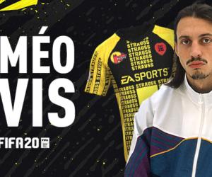 Le rappeur Roméo Elvis dessine un maillot évènementiel pour le jeu FIFA 20 d'EA SPORTS