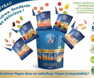 Le PSG se décline dorénavant en bonbons vegan avec 3D Confiseries