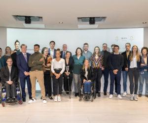 Le Groupe BPCE va soutenir financièrement 100 athlètes français pendant 5 ans jusqu'à Paris 2024