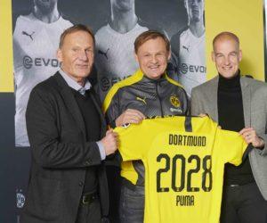 Football – Puma prolonge avec le Borussia Dortmund jusqu'en 2028