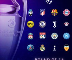 6 équipementiers différents pour les 1/8e de finale de l'UEFA Champions League 2019-2020