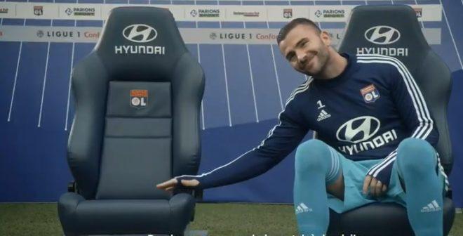 Activation – Hyundai surclasse les Fans de l'Olympique Lyonnais avec #HyundaiPreums