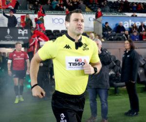 Kappa partenaire de l'EPCR habille dorénavant les arbitres des Coupes d'Europe de Rugby