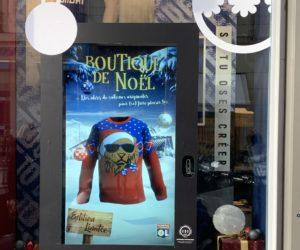 Merchandising – L'OL installe une vitrine connectée dans son store pour interagir avec les passants
