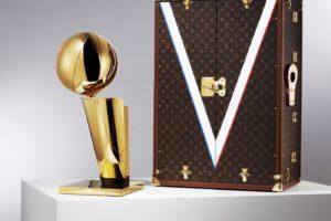 Le trophée NBA aura lui aussi sa malle Louis Vuitton
