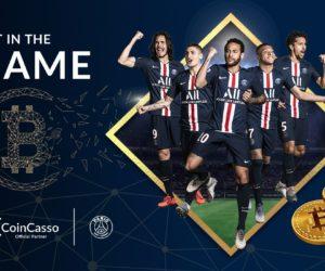 CoinCasso nouveau partenaire du Paris Saint-Germain