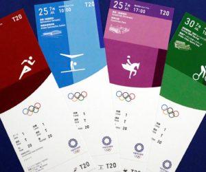Le design des billets des Jeux Olympiques de Tokyo 2020 dévoilé