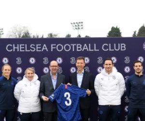 Three nouveau sponsor maillot de Chelsea FC dès 2020-2021
