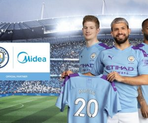 Midea devient Partenaire Officiel de Manchester City