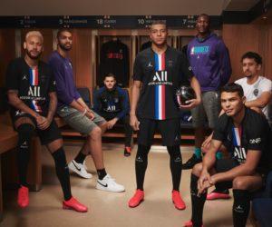 Le PSG dévoile son 4ème maillot noir et «bleu-blanc-rouge» floqué Jordan en marge du NBA Paris Game 2020