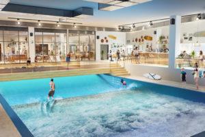 City Surf Park va proposer la plus grande vague de surf indoor d'Europe à proximité du stade de l'OL