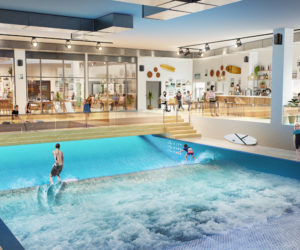 City Surf Park va proposer la plus grande vague de surf indoor d'Europe à proximité du stade de l'OL