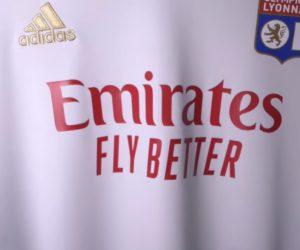 Emirates nouveau sponsor maillot de l'Olympique Lyonnais jusqu'au moins 2025. Un deal à 100M€