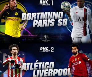 Média : Comment s'abonner à RMC Sport pour suivre le match Borussia Dortmund – PSG (UEFA Champions League)