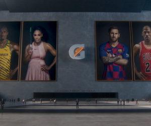 Gatorade dévoile sa nouvelle publicité «GOAT Camp» avec Michael Jordan, Lionel Messi, Usain Bolt et Serena Williams