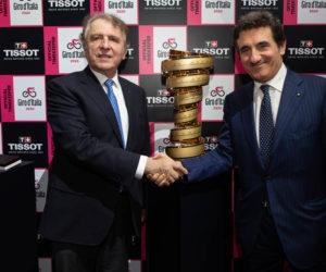 Tissot remplace Tag Heuer en tant que Chronométreur Officiel du Giro d'Italia