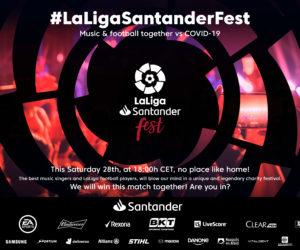 COVID-19 – LaLiga organise un évènement «sport & musique» à distance pour lever des fonds