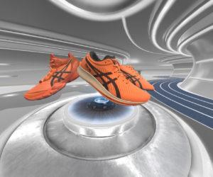 Asics utilise la Réalité Virtuelle pour présenter ses 3 nouveaux modèles de chaussures