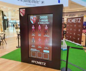 BeMyEvent offre une expérience en réalité augmentée aux Fans du FC Metz grâce à une borne interactive
