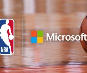 Microsoft nouveau Partenaire Technologique de la NBA dès la saison 2020-2021