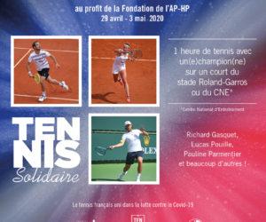 COVID-19 : Le tennis français se mobilise pour les soignants à travers une vente aux enchères «Tennis Solidaire»