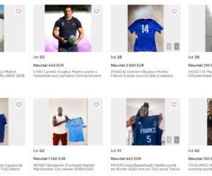 La vente aux enchères « Athlètes et solidaires » de 83 athlètes adidas récolte 107 730€