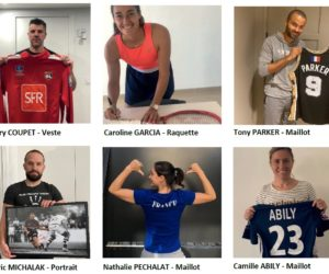 Le sport lyonnais participe à une vente aux enchères au profit de la Fondation Hospices Civils de Lyon