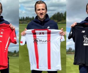 Harry Kane s'offre le sponsoring maillot de son premier club professionnel, le Leyton Orient FC, pour la bonne cause