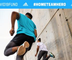 Covid-19 : adidas lance le #HOMETEAMHERO challenge