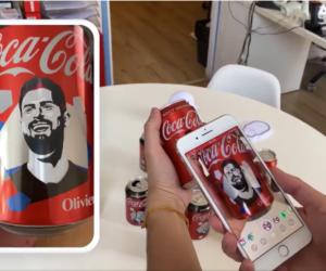 Euro 2020 – Coca-Cola offre une expérience en réalité augmentée sur Snapchat avec 11 canettes à l'effigie des Bleus