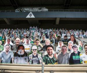 Bundesliga – Les fans du Borussia Mönchengladbach peuvent s'acheter un avatar en carton installé dans le stade
