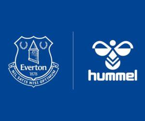 Hummel nouvel équipementier d'Everton pour un contrat record