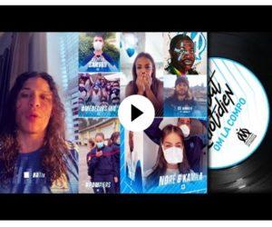 Les rappeurs de l'Olympique de Marseille offrent un rap aux Hôpitaux marseillais et aux plus démunis
