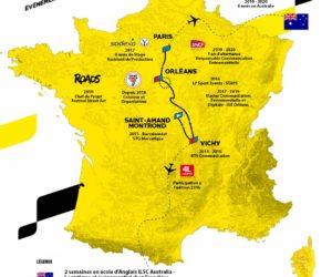 A recruter : Romain Moreau – Chargé de projet évènementiel (CV version carte du Tour de France)