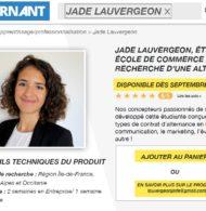 Une étudiante publie son CV façon «Decathlon» et son site e-commerce
