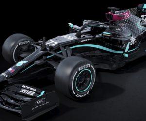 F1 – Les Mercedes d'Hamilton et Bottas seront noires pour la saison 2020