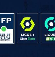 La LFP dévoile les nouveaux logos de la Ligue 1 Uber Eats et Ligue 2 BKT conçus par l'agence Dragon Rouge
