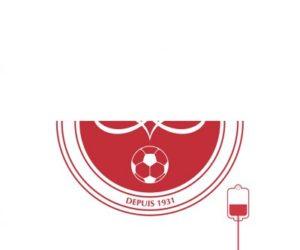 Quand le Stade de Reims soutient le don de sang avant la présentation de son nouveau logo