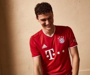 adidas dévoile le nouveau maillot domicile du Bayern Munich pour la saison 2020/2021