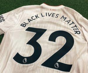 «Black Lives Matter» sur les maillots de Premier League à la place du nom des joueurs