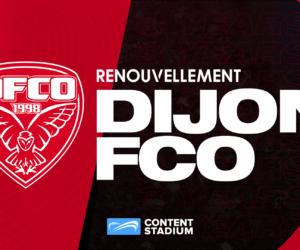 Dijon FCO prolonge sa collaboration avec Content Stadium et soigne sa création de contenu