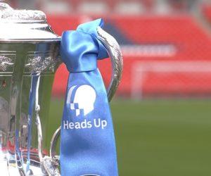 Emirates met de côté son Naming de la FA Cup pour la finale au profit de la campagne «Heads Up»