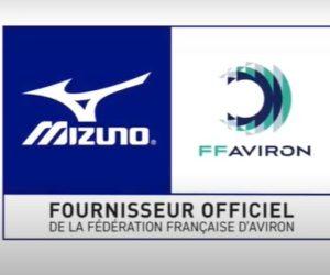 Mizuno nouvel équipementier de la Fédération Française d'Aviron