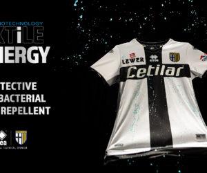 Football – Errea dévoile un nouveau maillot «antibactérien» et déperlant pour le club de Parme
