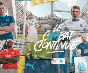 Puma dévoile les nouveaux maillots 2020-2021 de l'Olympique de Marseille