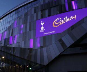 Sponsoring – Cadbury nouveau partenaire officiel de Tottenham